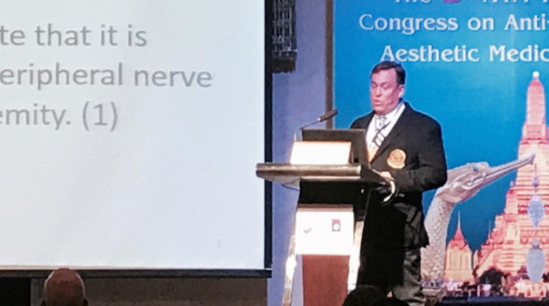Dr James Stoxen DC FSSEMM Hon Team Doctors 9th Annual A4M Thailand Congress on Anti-aging and Aesthetic Medicine Bangkok Thailand 2017