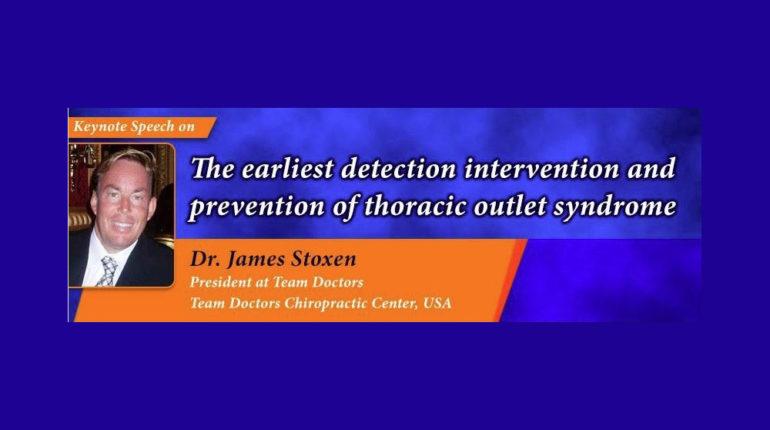Dr James Stoxen DC FSSEMM Hon Team Doctors 10th Global Orthopedicians Annual Meeting in Kuala Lumpur Malaysia 2017
