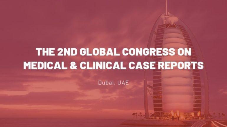 Dr James Stoxen DC FSSEMM Hon Team Doctors 2nd Global Congress on Medical & Clinical Case Reports Dubai UAE 2018
