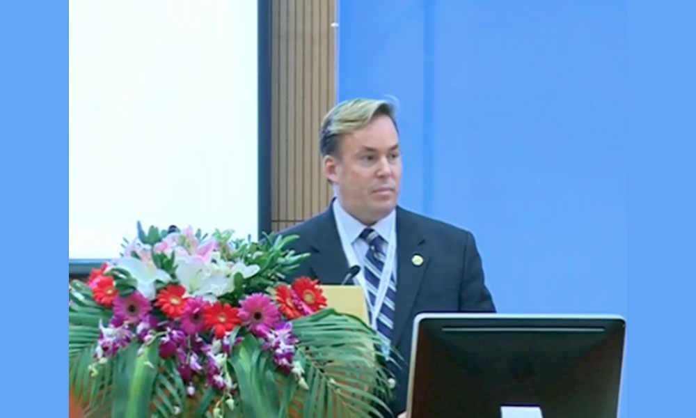 Dr James Stoxen DC FSSEMM Hon Team Doctors Shanghai World Congress On Anti-Aging Medicine And Regenerative Biomedical Technologies Expo (A4MC)