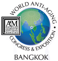 logo A4M World Anti-Aging Congress and Exposition Bangkok